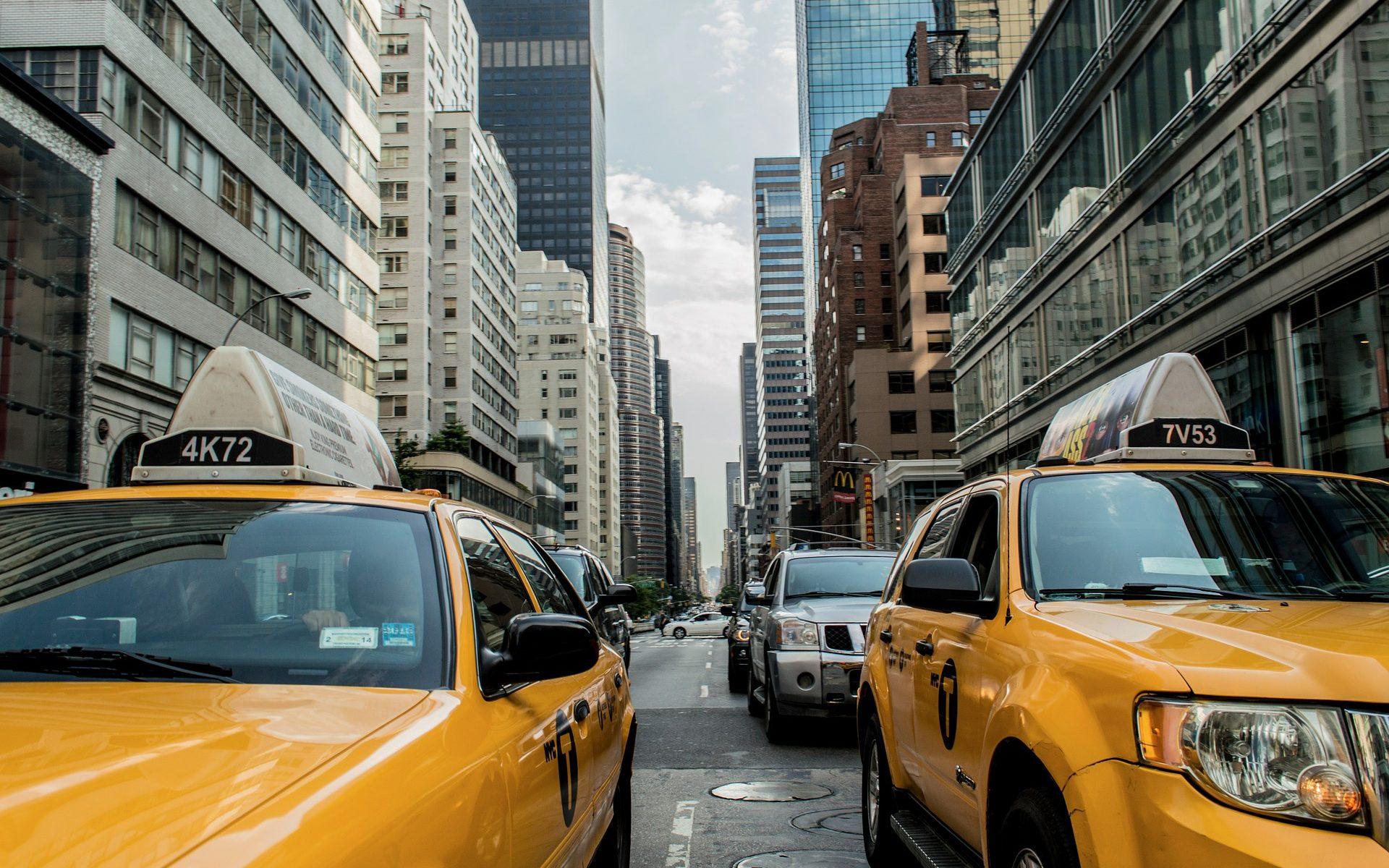 Hittegods taxi